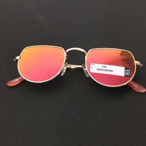 Retro Colorful Mirrored Sunglasses